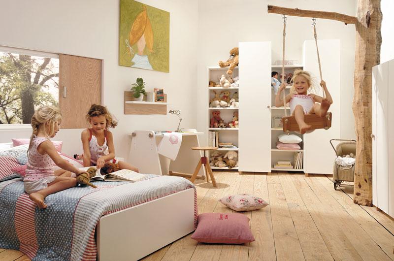 Kinderzimmer gestalten gardinen