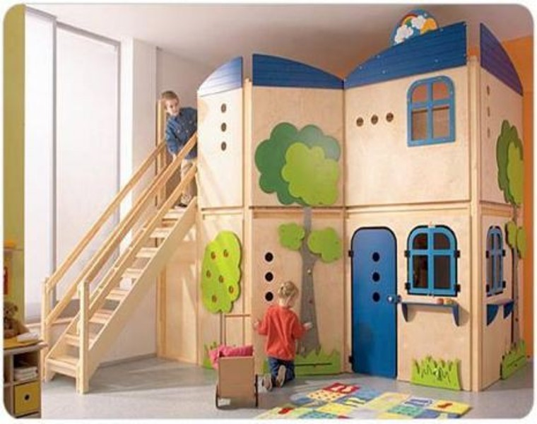6 Cool And Functional Indoor Children Playhouses Kidsomania