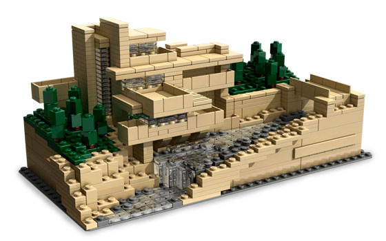 New Fallingwater Lego Building Kit For Future Architects