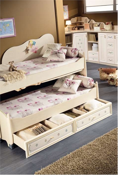 ... Is Equipped By Practical Sliding Desk, Two Big Drawers And Small  Ladder. The Caterina 7 Easily Could The Amazing Centerpiece Of Any Classic Girls  Room.