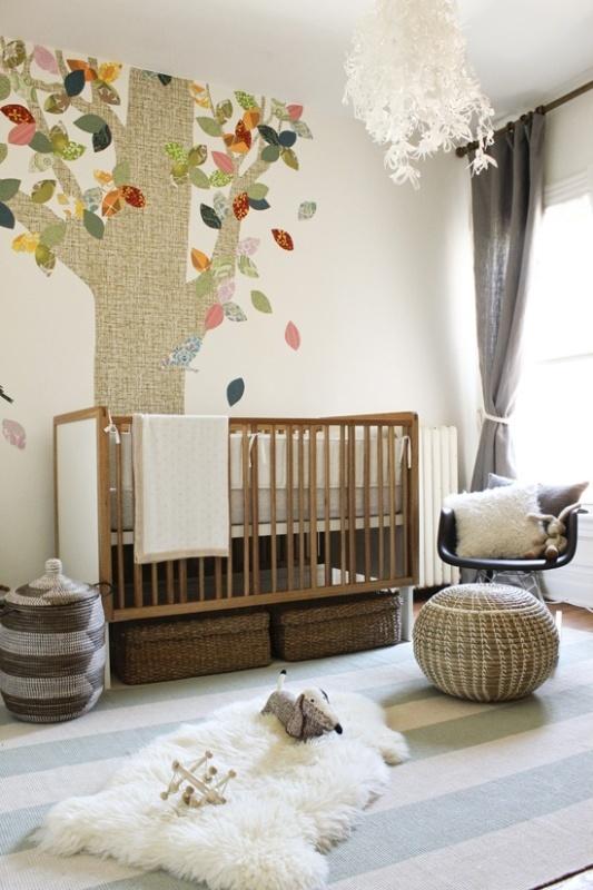 Fresh 15 Nursery Room Design Ideas With A Fur Rug   Kidsomania AB19