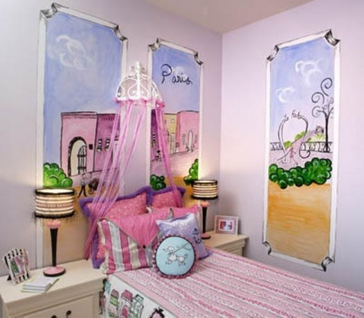 How To Create A Charming Girl's Room In Paris Style