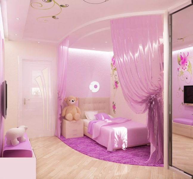 15 cool ideas for pink girls. beautiful ideas. Home Design Ideas