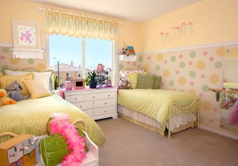 14 polka dots design ideas for a kid s room kidsomania