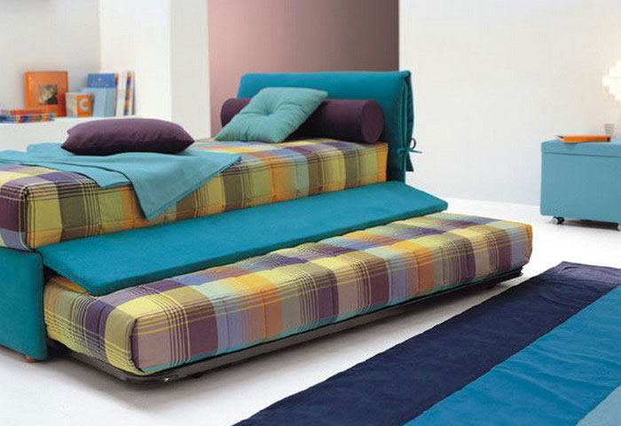 Practical single bed for kids and teen room designs for Designs of beds for teenagers