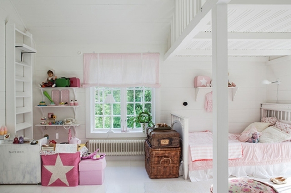 Romantic Light Pink Room Design For Two Sisters Kidsomania