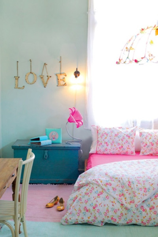 Decorar Habitacion Vintage ~ 10 Simple And Fresh Design Ideas For Teen Girl?s Bedroom