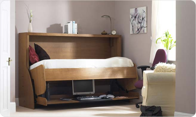 Space saving studybed for small teen room kidsomania - Space saving beds for small rooms ...