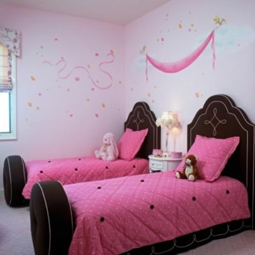 7 Stylish Brown And Pink Girl S Room Designs Kidsomania