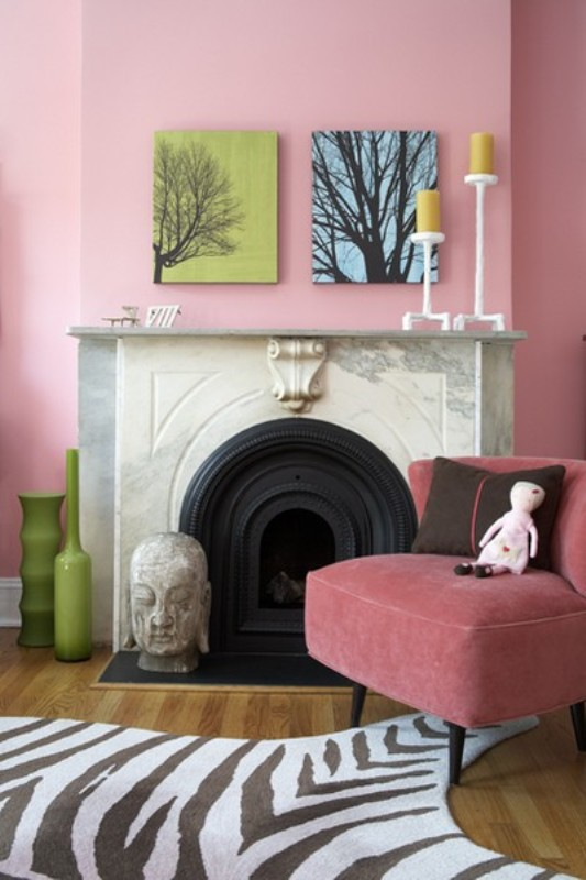 7 stylish brown and pink girl s room designs kidsomania for Pink brown bedroom designs