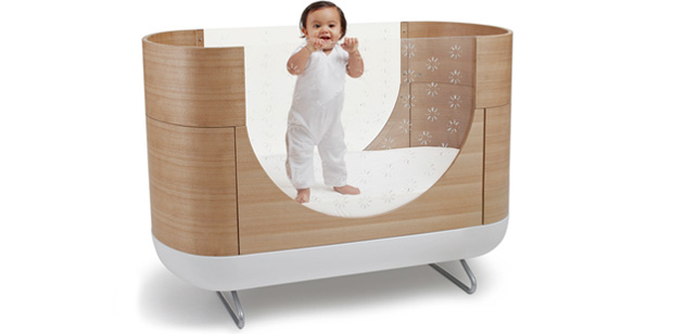 Modern Baby Cots : Stylish Baby Cot with Transparent Sides – Pod by Ubabub  Kidsomania