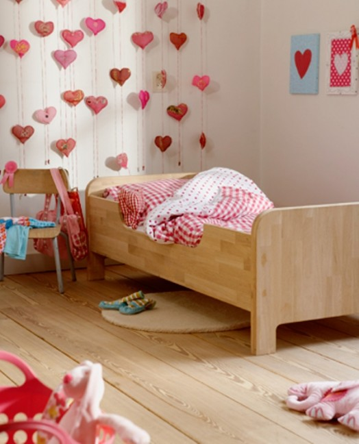 Cute 3d decor for a kids room walls kidsomania - Cute designs for walls ...