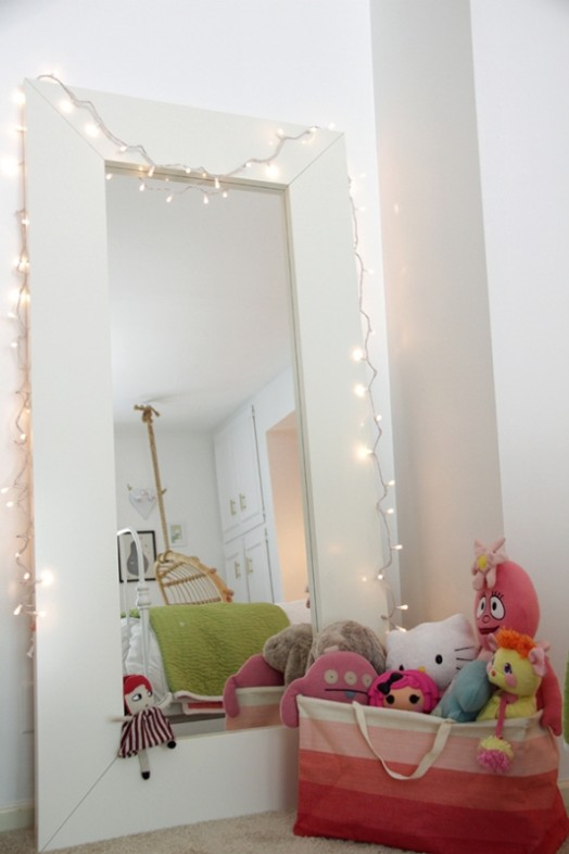 Magic Bedroom For A Girl In Gentle Colors Kidsomania