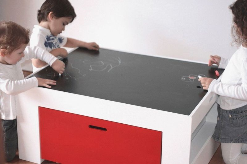 with desks kids activity image table in storage asp
