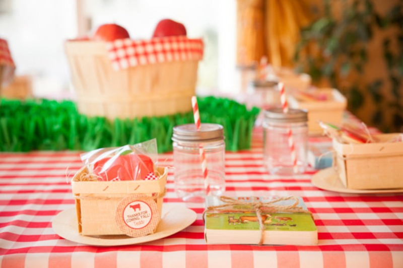 Adorable and bright farm themed kid s birthday party kidsomania