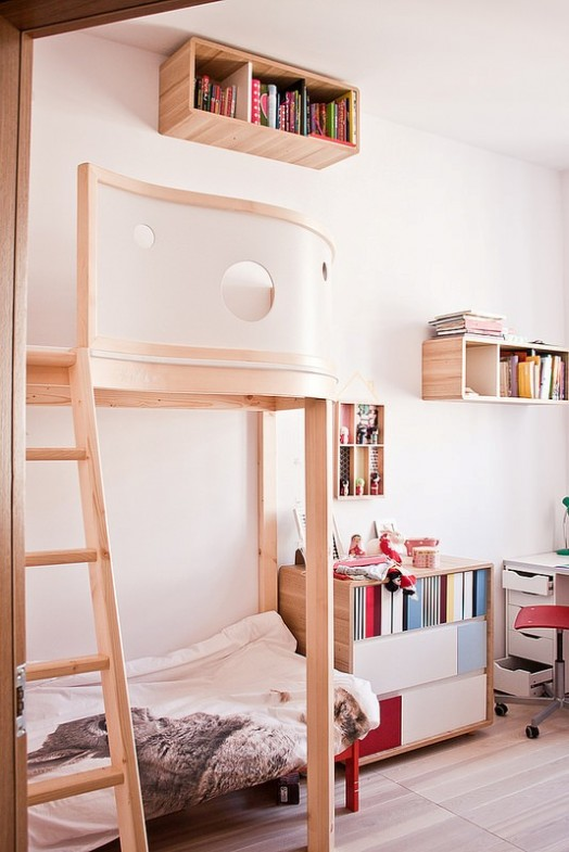 White Bunk Beds Boys Room