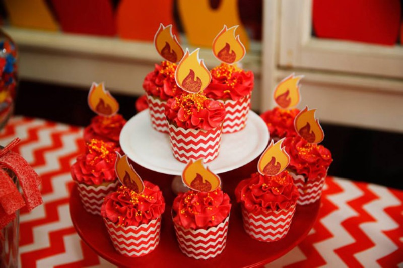 amazing fire truck themed kids birthday party 10 Free Printable Pictures Of Birthday Cakes