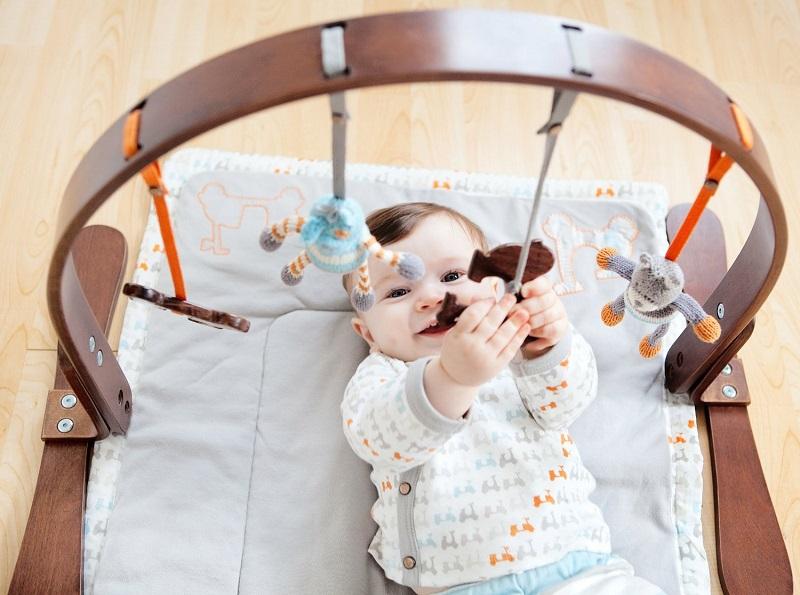 Amazing Wooden Baby Play Gym By Finn Emma Kidsomania