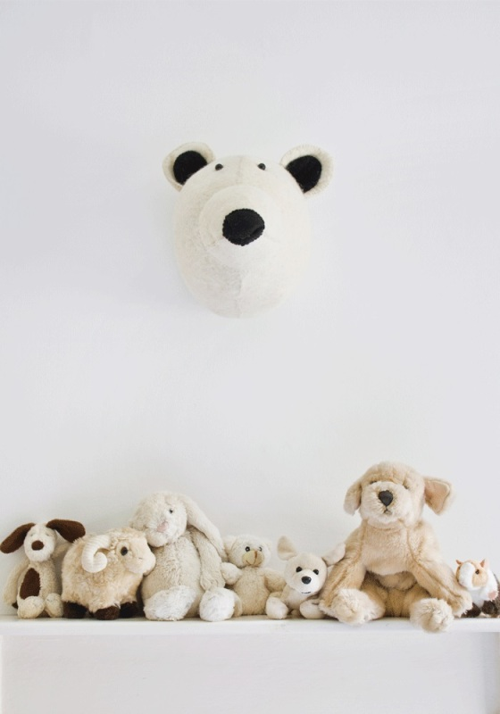 Awesome Bodie And Fou Animal Heads To Decorate Your Kid S Room