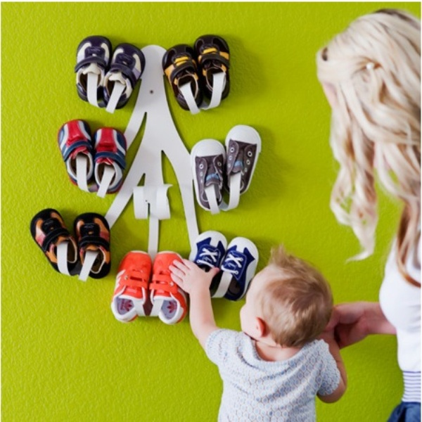 Awesome Curl Baby Shoe Rack