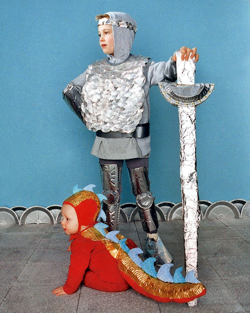 Новогодние костюмы для мальчиков своими руками рыцарь