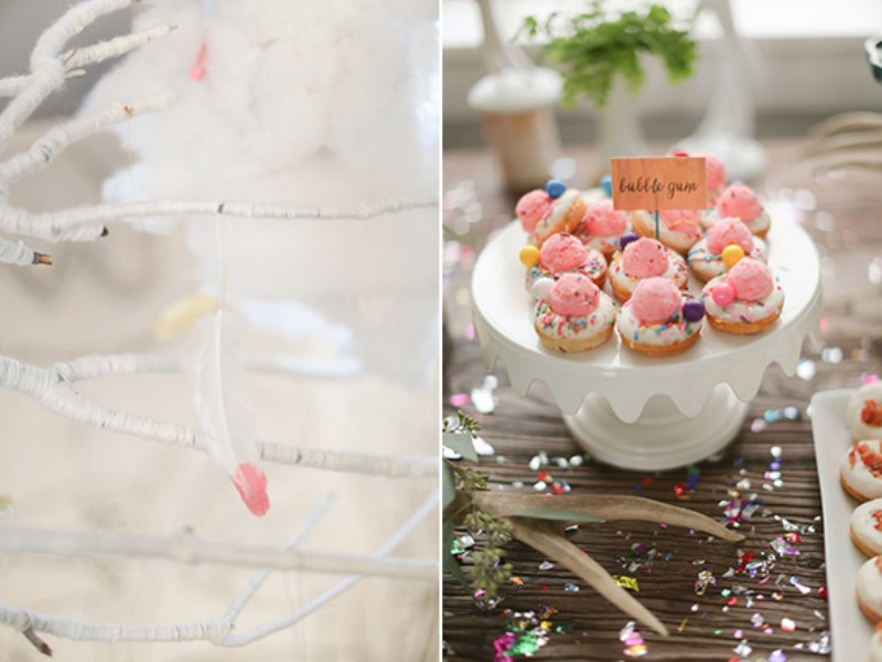 35e3685802 Awesome Woodland Themed Kid s Birthday Party Inspiration