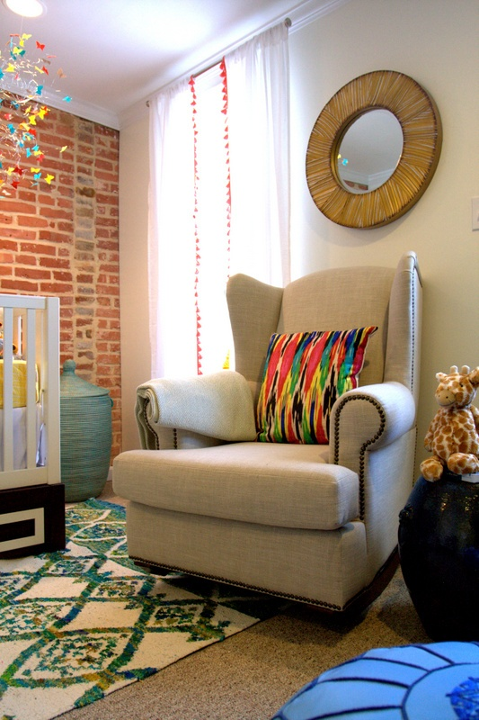 Bright Fun And Eclectic Baby Nursery Design Kidsomania