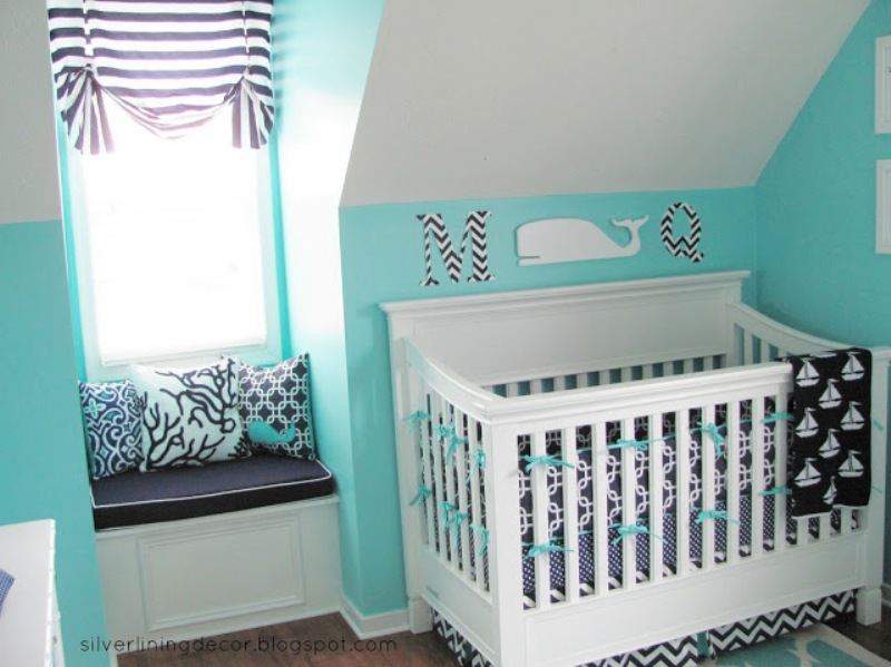 Room Where All Of The Elements Are Bold Enough And Really Thought Out So We Can Only Inspire By It Wish Some Good Luck With A Baby Boy Here