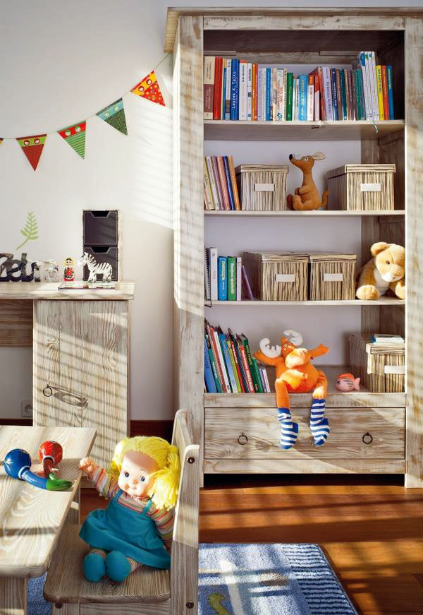 Cheerful Kids Room Design With Lots Of Toys | Kidsomania