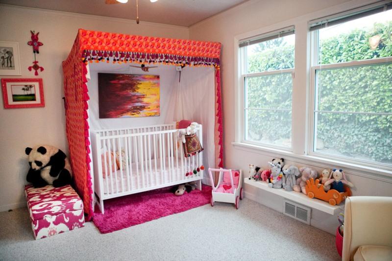 Boy Nursery Canopy