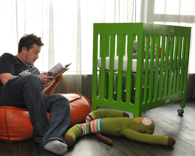 Modern Foldable Cot Crib For Small Living Spaces Alma By