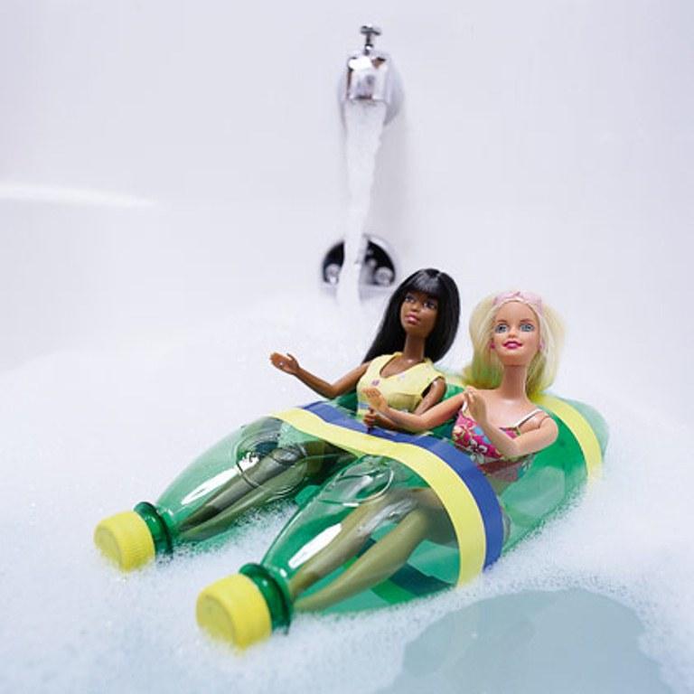 Homemade Barbie Boat