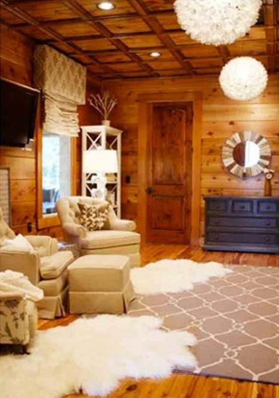 Rustic Kids Bedrooms 20 Creative Cozy Design Ideas: Cozy Wood Cabin Nursery Design Ideas