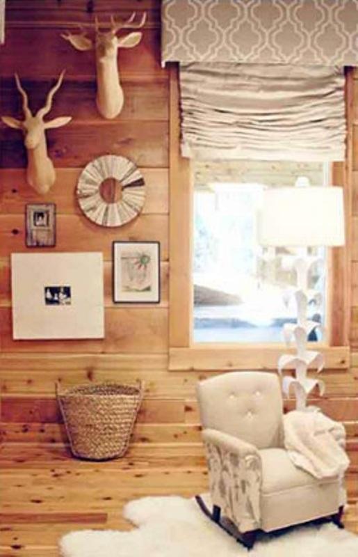 Cozy Wood Cabin Nursery Design Ideas Kidsomania