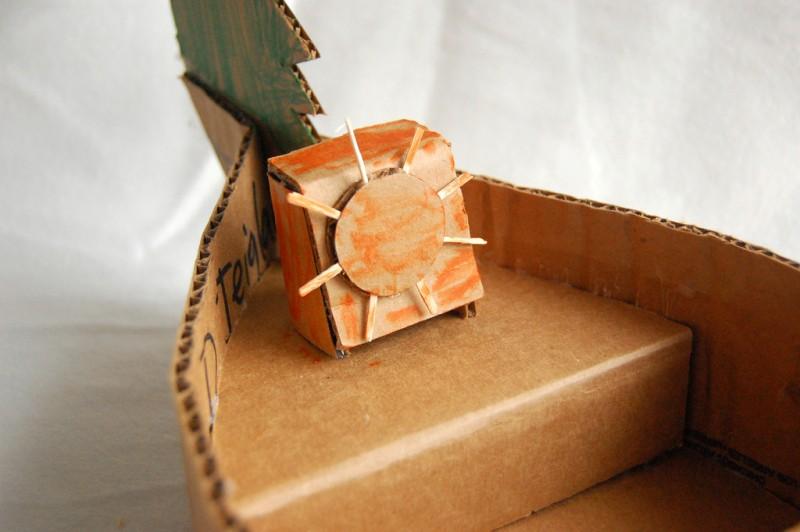 Корабль из картона своими руками пошаговый