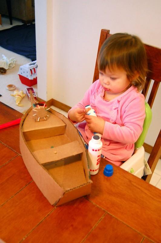Creative Chronicles Of Narnia Inspired DIY Cardboard Boats ...
