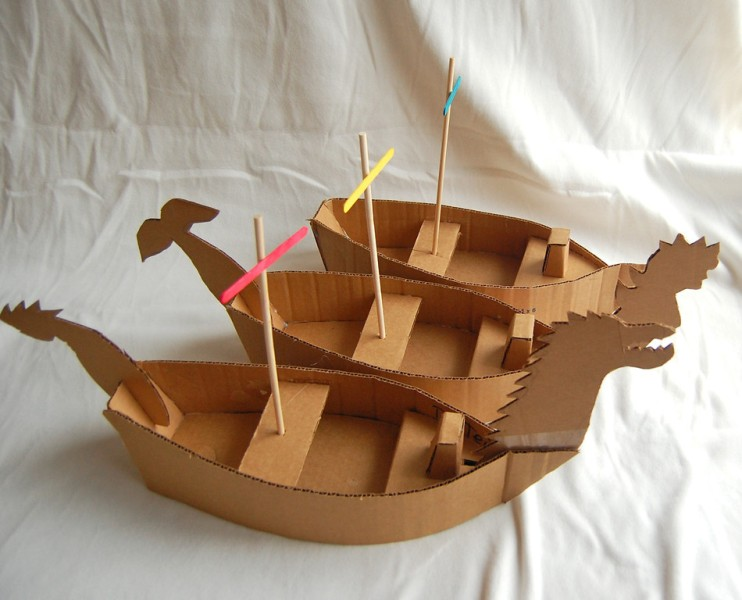 As Soon Youre Done You Can Glue Them Together See On The Pictures And Then Adorn Your Boat Like For More Instructions Please Visit
