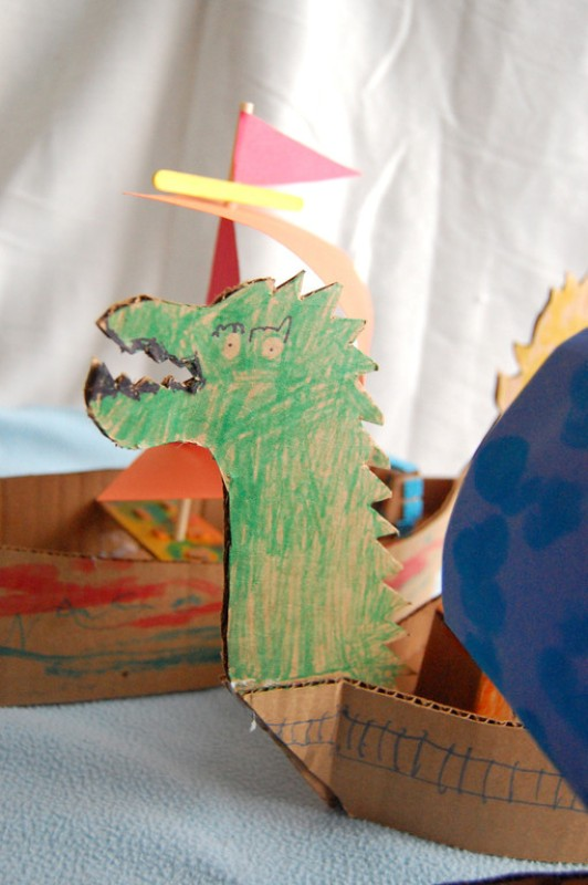Creative Chronicles Of Narnia Inspired DIY Cardboard Boats ...