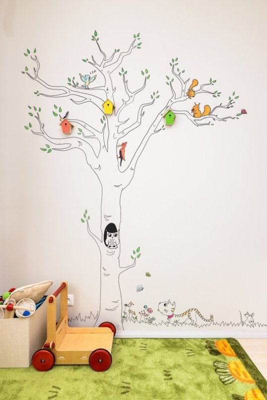 Cute And Cheerful Birdhouse Toddler Girl Room Kidsomania