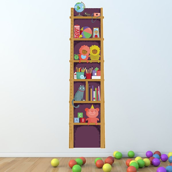 Marvelous Cute And Colorful Growth Charts Ideas For Kids