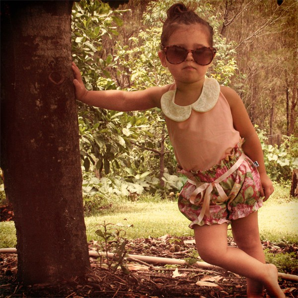 Cute Vintage Inspired Kids Clothes Collection By Lacey