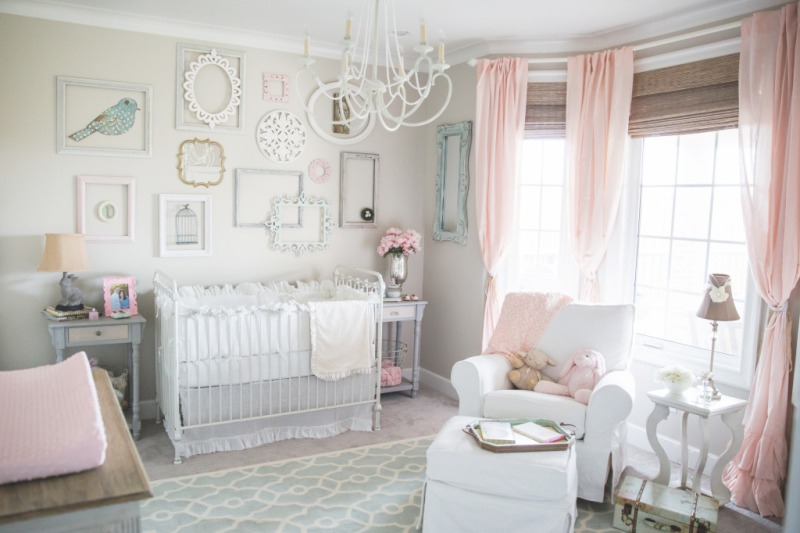 Ideas for a Nursery Elegant and Sweet