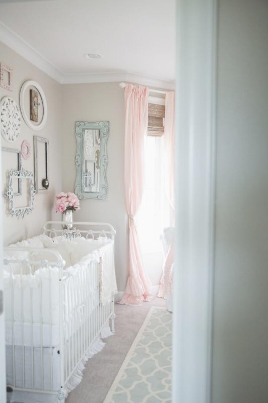 Dainty And Sweet Baby Girl Nursery Inspiration Kidsomania