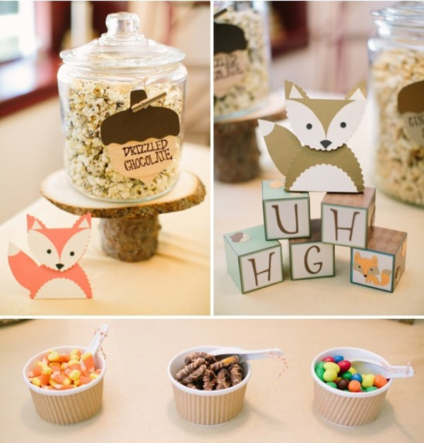 Darling Fox Themed Baby Shower Party To Get Inspired