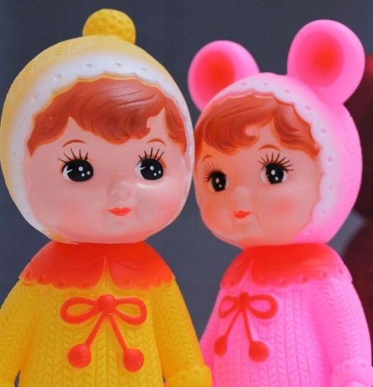 Delightful Retro Japanese Dolls Made New By Lapin And Me