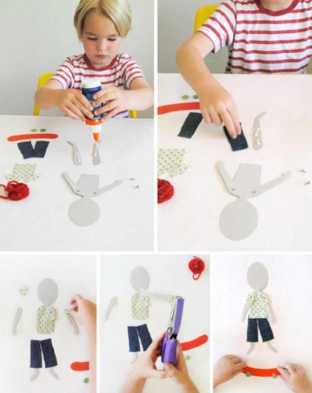 Как сделать свою куклу своими руками из бумаги