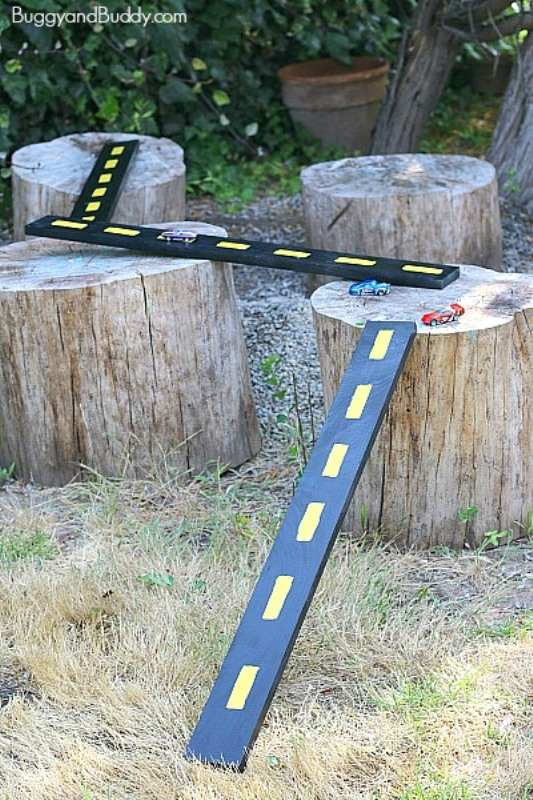 DIY Wooden Roads And Ramps For Kids' Toy Cars | Kidsomania
