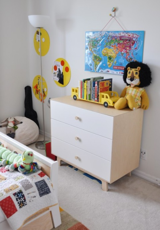 Eclectic And Cute All White Big Boy Bedroom Kidsomania