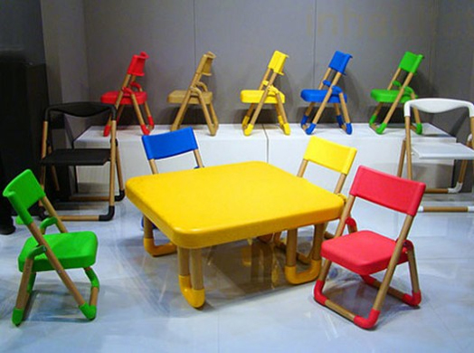 Eco Friendly Kids Tables And Chairs With Rounded Corners