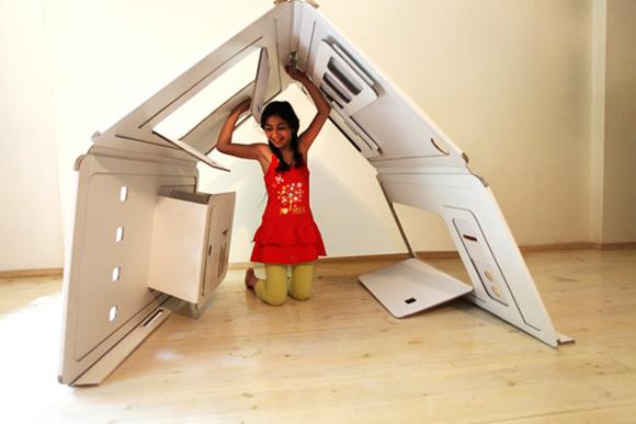 Как сделать домик для детей в квартиру